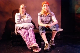 With Amanda Brockbank in If You Lived Here, You'd Be Home by Now. Playwright Theatre, 2008.