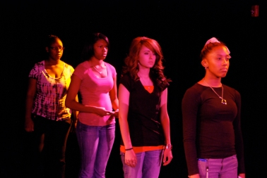 Those Whose Arms Are Open, a devised piece with students of Denver Venture Charter School, directed by Janna L. Goodwin.