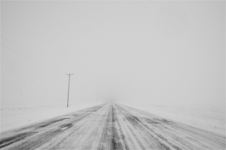 wyoming highway winter